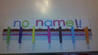 Monday Made-It: No Name Clip Board