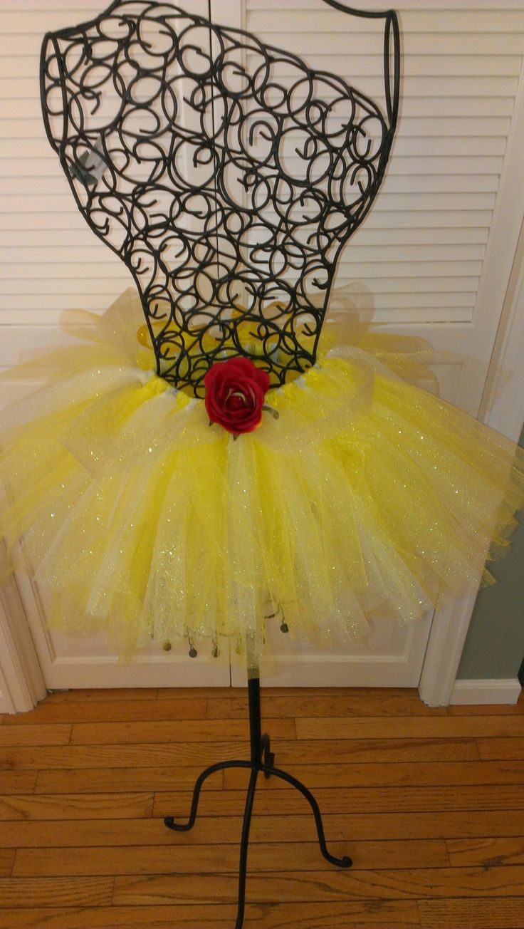 Beauty and The Beast Belle Tutu