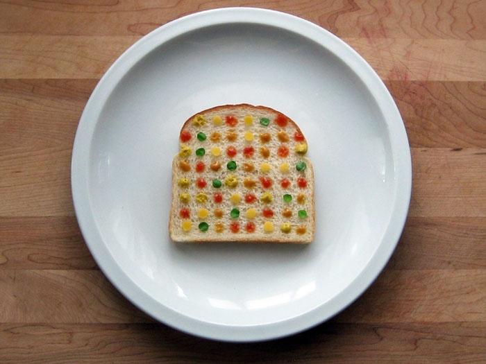 Modern sandwich art - Damien Hirst