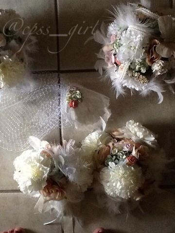 A Bride On A Budget: Real Life Wedding: Sarah's Homemade Bouquets