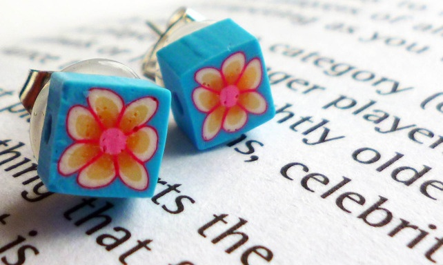 Fun and funky floral earrings £0.95