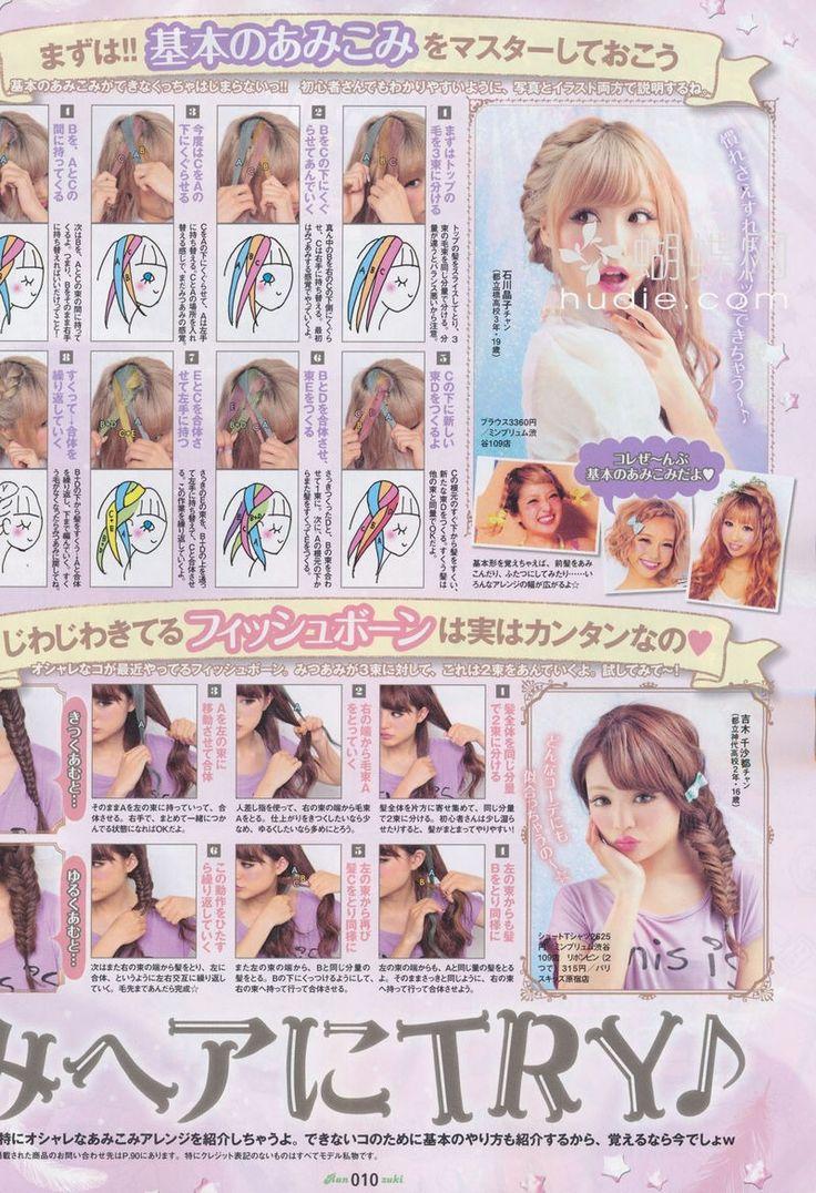 japanese hair tutorial | Tumblr