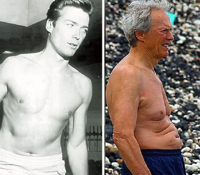 Clint Eastwood – Then and Now