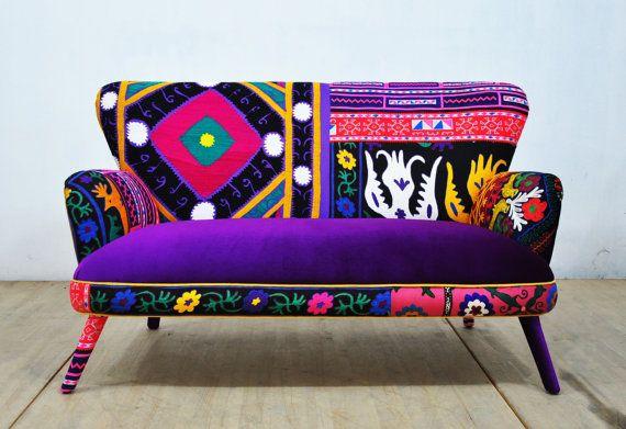 les 25 meilleures id es de la cat gorie canap patchwork sur pinterest canap simple au. Black Bedroom Furniture Sets. Home Design Ideas