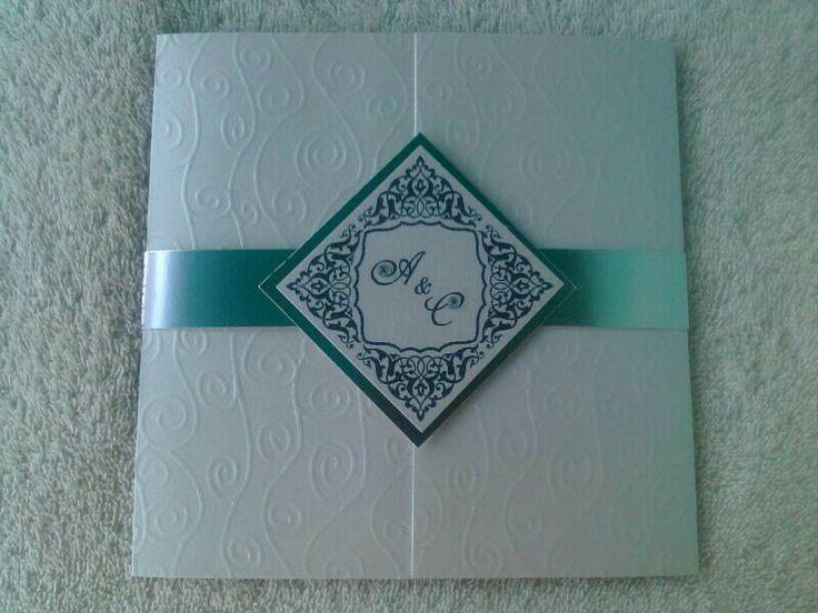 Invitación de bodas, tarjeta de matrimonio