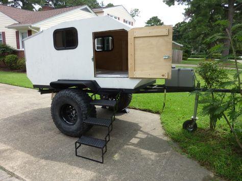 teardrop camper interiors   Homemade Offroad Teardrop Trailer- $1750 OBO - VA - Expedition Portal