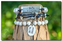 Georgia Southern University Game Day Bracelet Stack
