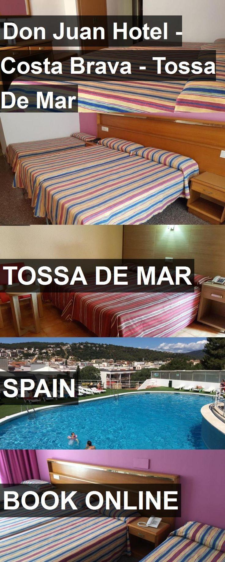 Don Juan Hotel - Costa Brava - Tossa De Mar in Tossa de Mar, Spain. For more information, photos, reviews and best prices please follow the link. #Spain #TossadeMar #travel #vacation #hotel