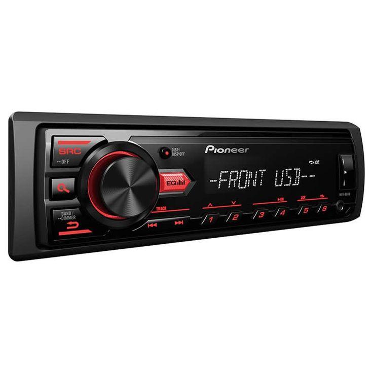 🎶 Som Automotivo Pioneer MVH-88UB MP3 Player  💵 De R$ 229,00 por 👉 R$ 159,90 👈 a vista  💳 Ou em até 2x de R$ 79,95 sem juros no cartão