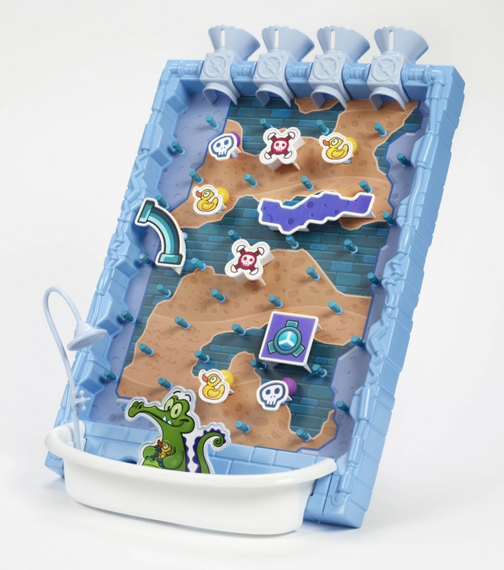 """Where's My Water? Game - $20 and no creativity needed - perfect for """"Where's My Water"""" fun!  