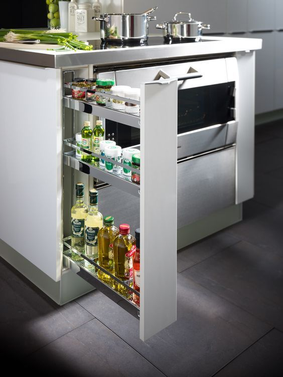 Kessebohmer Uittrekelementen Smalle Kasten Kast Keuken Kitchen Idea In 2018 Cabinets Design