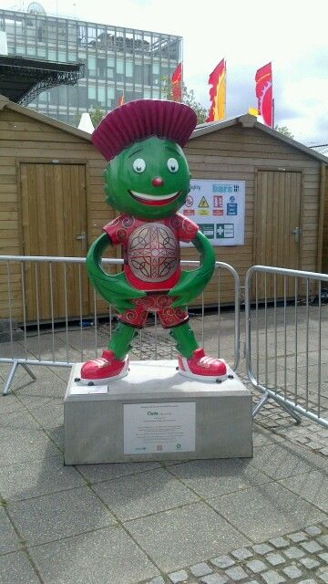 Clyde at the BBC Scotland studios, The Quay, Glasgow2014