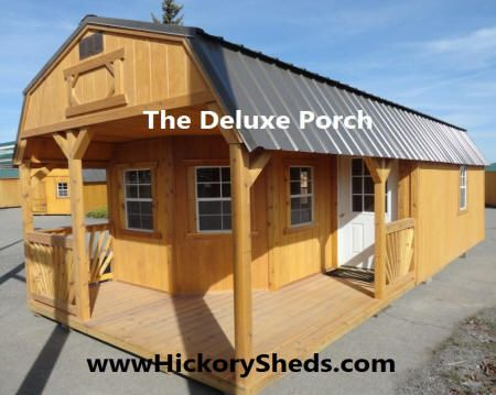 Old Hickory Sheds Northwest Deluxe Playhouse Tiny House