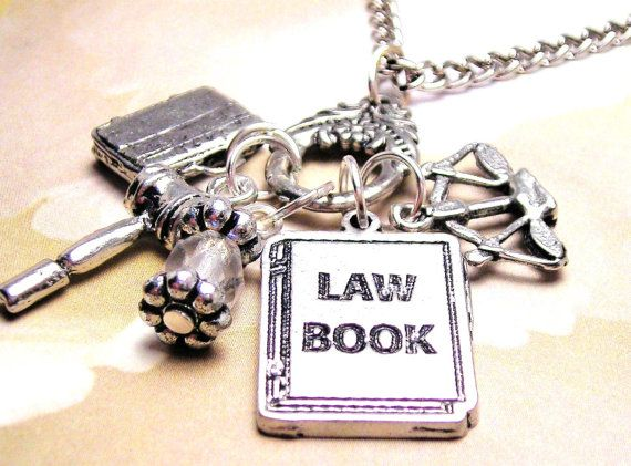 Lawyer or law school Graduation time charm by MyTinyTemptations