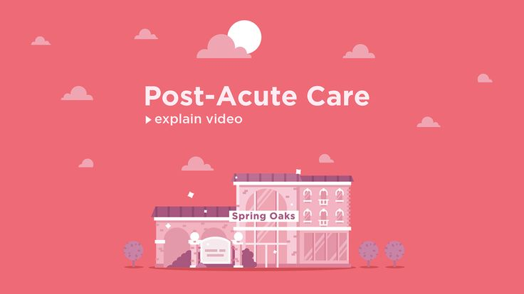 Post-Acute Care on Behance