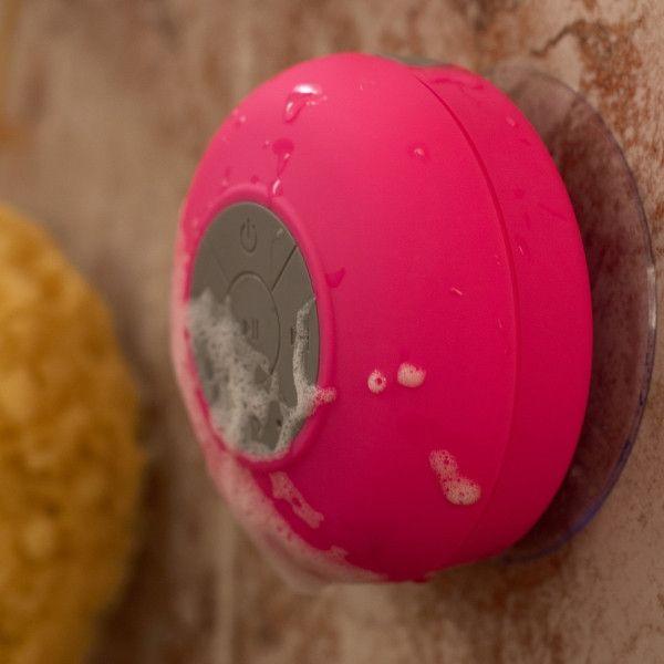 Splash Shower Tunes (All Colors) - Bluetooth Waterproof Shower Speaker
