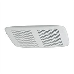 nutone white grille ceiling wall fan  cfm for rooms with independent lighting ideal for the bath or dressing area these maximum performance exhaust : bathroom heaters exhaust fan light