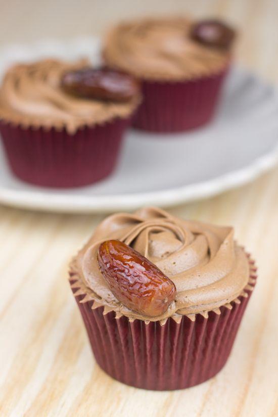 Objetivo: Cupcake Perfecto.: Cupcakes de dátiles con chocolate
