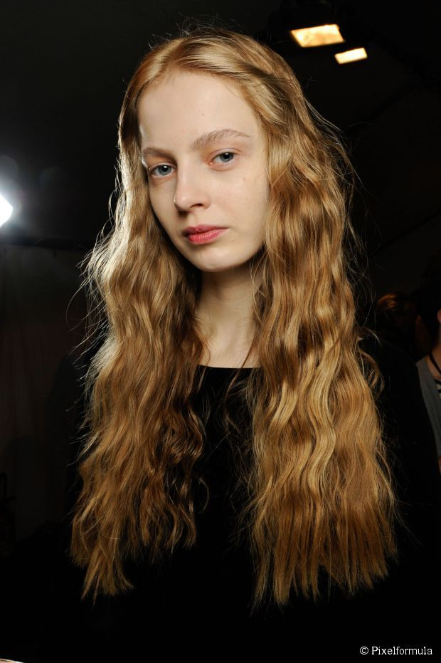 Loose waves are always good for a relaxed style