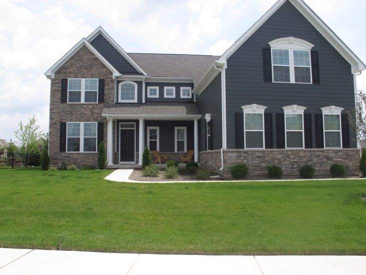 15 best images about ryan home ravenna model on for Model home exterior photos