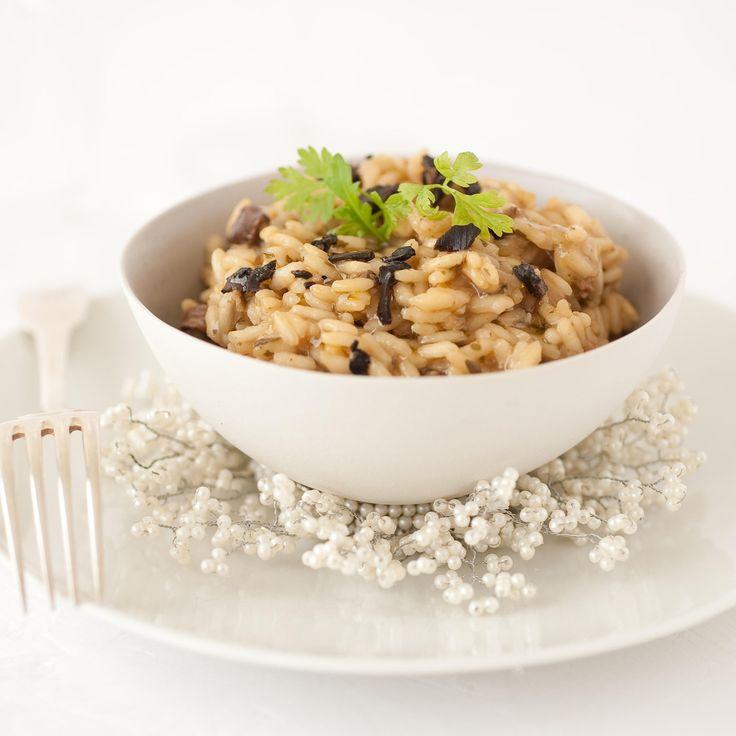 Découvrez la recette du risotto aux truffes