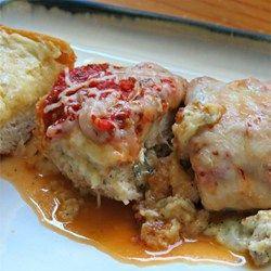 Italian Stuffed Chicken Breast - Allrecipes.com