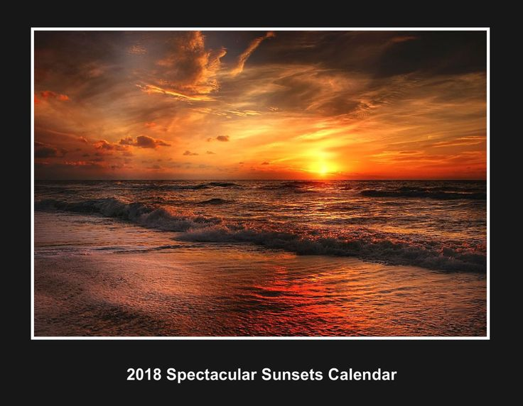 Check out this project - 2018 Spectacular Sunsets Calendar - from CreatePhotoCalendars.com!