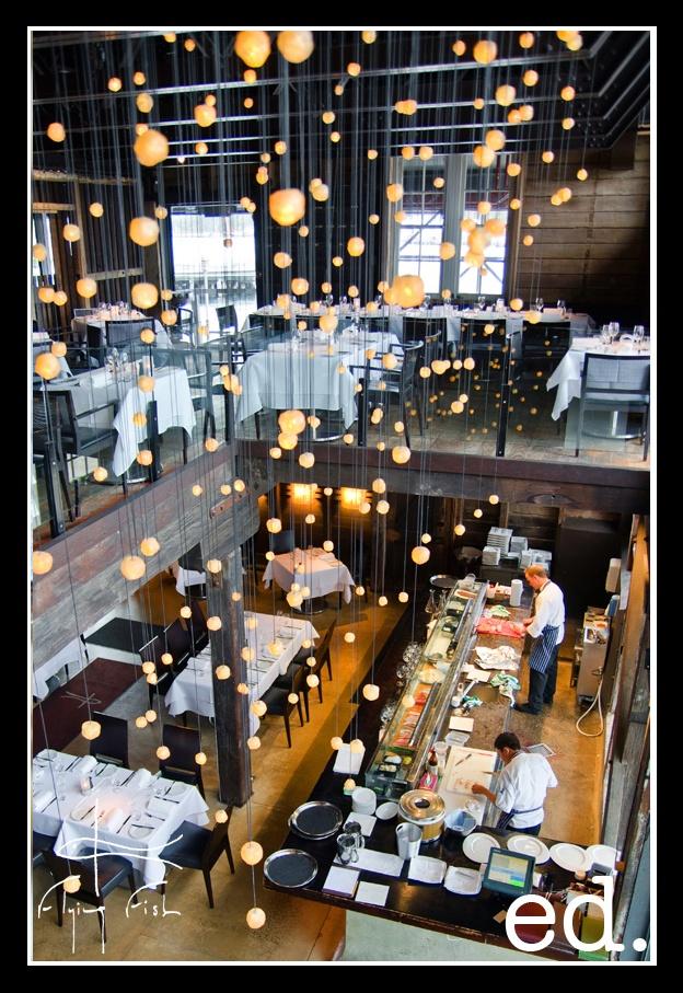 Executive Decisions Magazine - Flying Fish Restaurant - Jones Bay Wharf - Pyrmont Sydney - ed. magazine