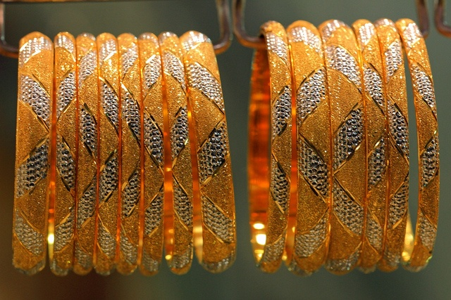 Gold Bangles at the Old Dubai Gold Souk. by Ihsaan Adams | Flickr