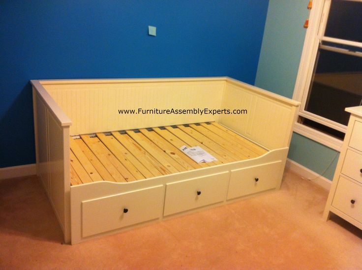 Ikea Hemnes Day Bed Assembled In Baltimore MD For A Customer Kid`s Room By