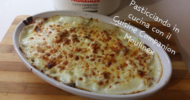 Finocchi gratinati con la pancetta con il Cuisine Companion Moulinex - CuCo - I-Companion - Ricetta CuCo