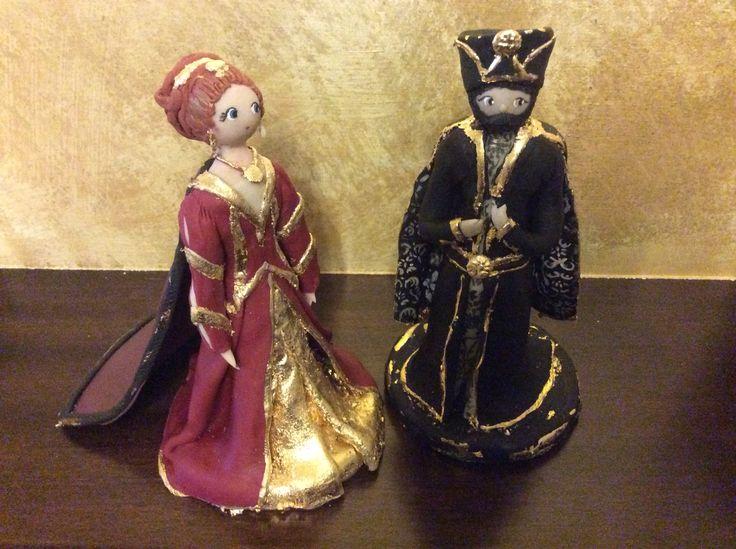 Duca e Duchessa, Corsa alla spada, Camerino