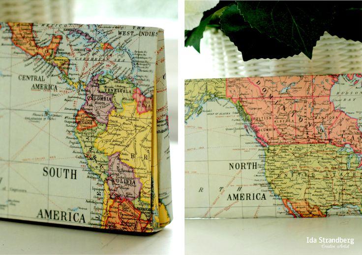 World map by: www.peacetegn.com