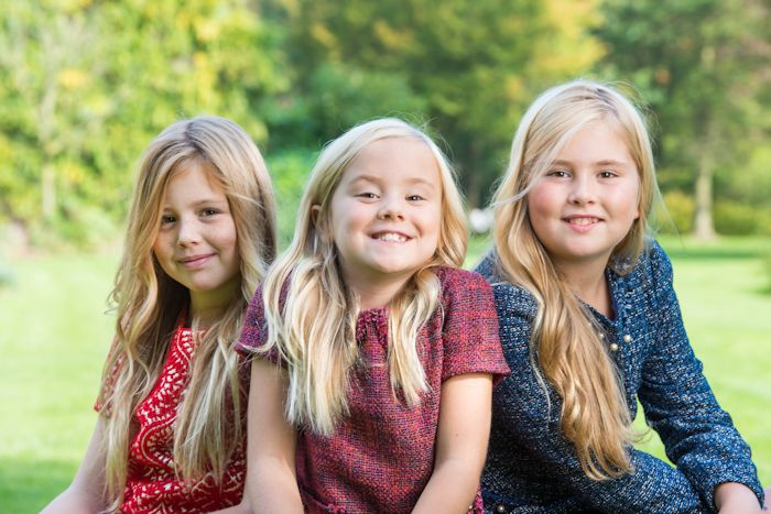 Royal Sisters ... Princess' Alexia, Ariane, and Amalia... Daughters of Queen Maxima of Netherlands and King Willem-Alexander of Netherlands