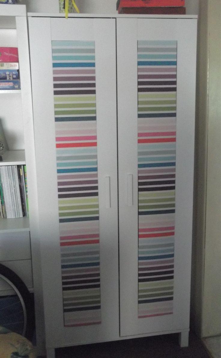 Ikea hack aneboda - I've always wanted to do something similar to our Ikea wardrobes