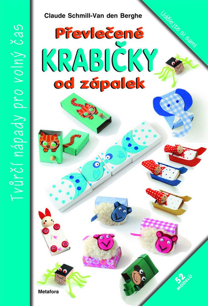 52 modelů, přetvořte obyčejné krabičky od zápalek na veselé krabičky na spoustu tajností a zábavné hračky