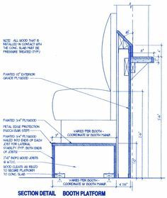Bar Height Booth Platform Suggested Dimensions