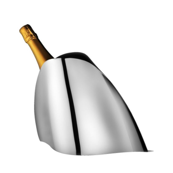 Champagne Cooler Stainless Steel - Georg Jensen #champagne #cooler #style #gifts #christening