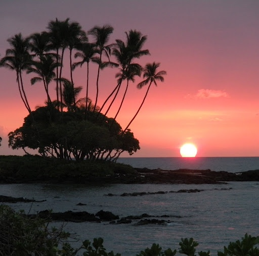 sunset on the Big Island of Hawaii -hope to see this July 2013 :D