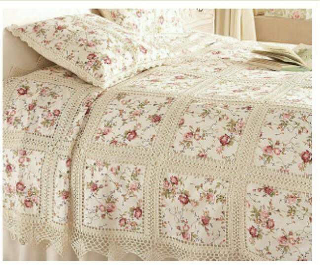 Beyaz örgü yatak örtüleri | Örgü Modelleri - Örgü Dantel Modelleri