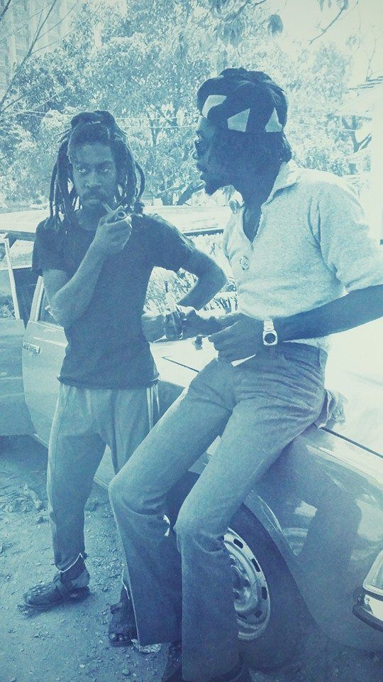 *Bunny Wailer* & Peter Tosh. More fantastic pictures and videos of *The Wailers* on: https://de.pinterest.com/ReggaeHeart/