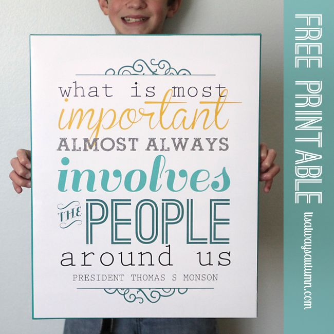 """what is most important"" free printable + chalkboard version - itsalwaysautumn - it's always autumn"
