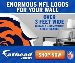 REAL.BIG. NFL Wall Graphics at Fathead.com today!: Graphics Bring, Wall Graphics, Nba Graphics, Nfl Wall, Fathead Com Today