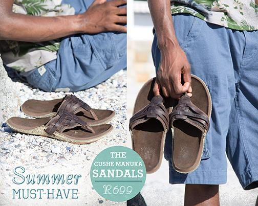 Old Khaki Summer Must Have- Cushe Manuka Strap Sandal