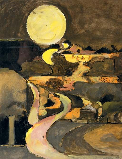 Twisting Roads, 1976, Graham Sutherland. (1903 - 1980)