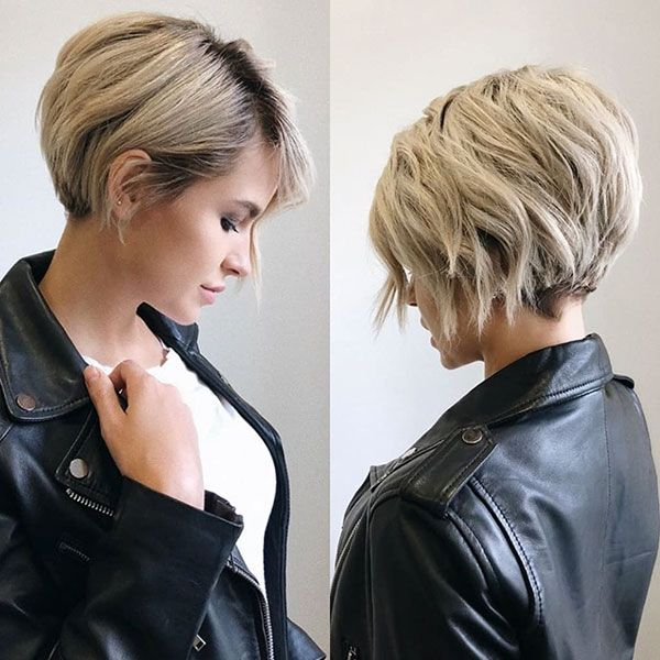 45 Neueste Trendy Short Haircuts 2019 2020 Short Hairstyles For Thick Hair Short Hair Trends Thick Hair Styles
