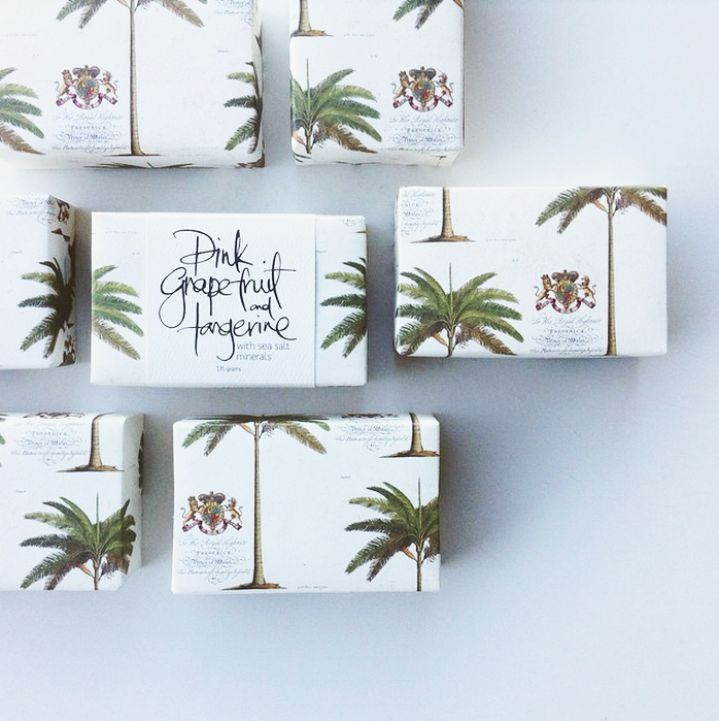 Maple Soaps / Beautifully Packaged Favors / View more: http://thelane.com/brands-we-love/bonbonniere/favors
