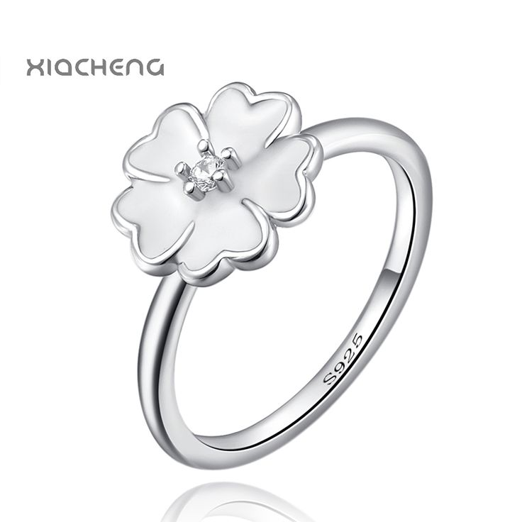 Ningbo Pandora Authentic 925 Sterling Silver Ring With Cubic Zirconia Flower Rings For Women Compatible With Party Jewelry R24