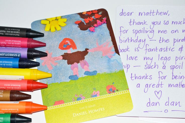 Simply photograph your child's favourite artwork and upload to our Personalised Art Stationery - Stationery has never been more fun & personal - www.macaroon.co