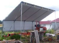hiscoshelters.com Commercial Industrial portable Shelter Logic carport garage canopy material equipment Covers, Custom-built instant all Weather-Shield kits high quality tension fabric buildings